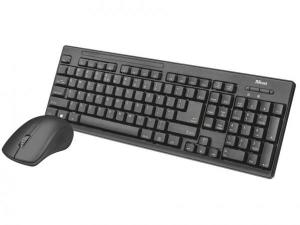 Kit Teclado e Mouse sem Fio Trust-T22542 | R$60