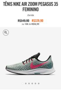 Tênis Feminino Nike Air Zoom Pegasus 35