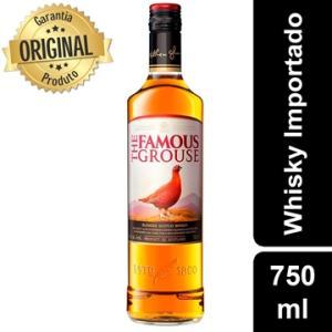 Whisky Escocês The Famous Garrafa 750ml - Grouse | R$62