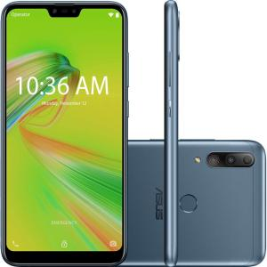 Smartphone Zenfone Asus Max Shot M2 ZB634KL-4D008BR 64GB Dual Chip Oreo Câmera tripla 12MP+5MP+8MP - Azul | R$1.399 (R$1.231 com AME)