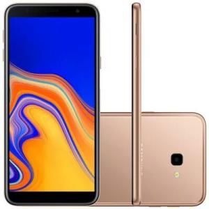 Smartphone Samsung Galaxy J4+ SM-J415G, 4G Android 8.1 32GB por R$ 611