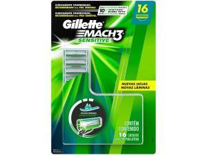 Carga Gillette Mach3 Sensitive-16 Cargas
