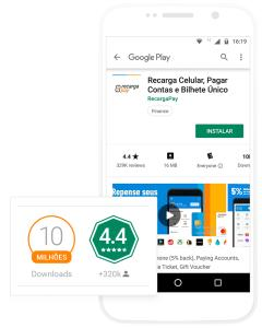 [Novos Usuários] RecargaPay: 50% de desconto na primeira Recarga de celular no app