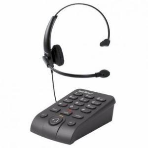Telefone Headset Intelbras Hsb 50 Com Base Discadora R$153