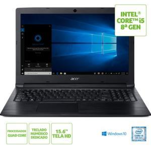 "Notebook Acer Aspire 3 A315-53-C6CS Intel® Core™ i5-8250U 8º Geração 4GB RAM 1TB HD 15.6""HD Windows 10"