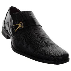 Sapato Social Preto Verniz Parthenon | R$60
