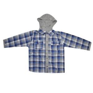 Camisa Infantil Manga Longa Gola Polo Xadrez Up Baby - Cor: AZUL - Tam: P | R$41