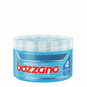 Gel Fixador De Cabelo Bozzano Ação Prolongada Azul 300g - R$7