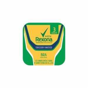 Kit  com 3 Sabonetes Em Barra Rexona