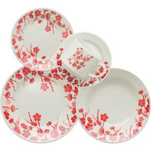 Aparelho de Jantar/Chá 20 Peças Cerâmica Donna Jardim Oriental Multicolorido - Biona - R$119
