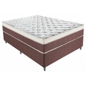 Conjunto Box Casal, Molas Ensacadas, 138x188cm - Montreal Premium | R$789