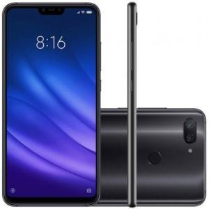 Smartphone Xiaomi MI 8 Lite 64GB Versão Global Desbloqueado Preto - R$1.059