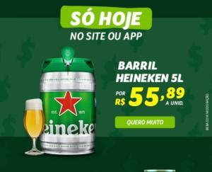 Barril Heineken 5L - R$56