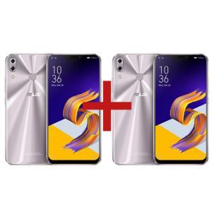 ZenFone 5Z 6GB/128GB Prata + ZenFone 5 4GB/64GB Prata - R$3.499