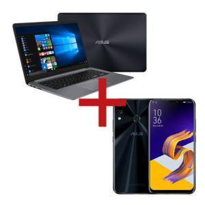 Notebook Optane X510UA-BR1272T Cinza + ZenFone 5Z 8GB/256GB Preto  | R$4.699