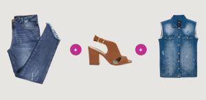 [peça grátis] Compre 2 peças (calçados e/ou jeans) a 3ª é grátis