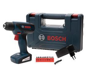"""Furadeira e Parafusadeira Elétrica Bosch 12V - Velocidade Variável Mandril 1/4"""" GSR 1000 Smart por R$ 200"""