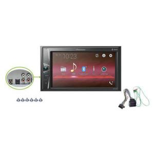 "Som Automotivo Pioneer MVH-G218BT, 6,2"", 2D, Bluetooth, USB por R$ 462"