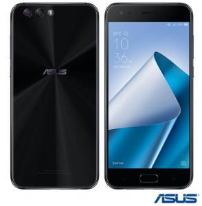 """Zenfone 4 Preto Asus, com Tela de 5,5"""", 4G, 128 GB e Câmera de 12+8 MP - ZE554KL2 por R$ 1324"""