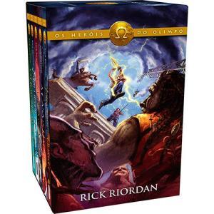 Livro - Box Heróis do Olimpo | R$80