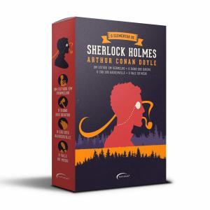 Box O Elementar de Sherlock Holmes (Português) Capa Comum – Edição padrão - R$45