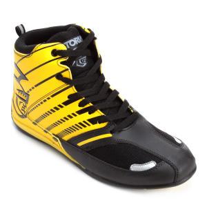 Tênis Pretorian Striker Masculino - Preto e Amarelo | R$80
