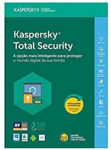 Kaspersky Total Security 2019 - Multidispositivos - 3 Dispositivos, 1 ano (Digital - Via Download) - R$60