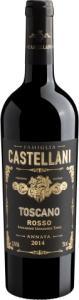 Vinho Famiglia Castellani Toscano Rosso 2014 750 ml | R$40