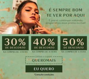 Natura - Desconto de 50% (Acima de 5 itens)