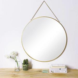 [R$ 110,99 com AME] Espelho Redondo Glam 60cm - Orb [40% de Volta]