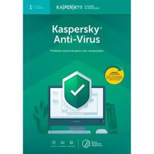 R$19,90 - Kaspersky Antivírus 2019 1 PC - Digital para Download