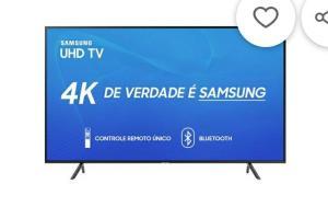 "[AME] Smart TV LED 50"" Samsung UN50RU7100GXZD Ultra HD 4K com Conversor Digital  por R$ 2000 ( com AME)"
