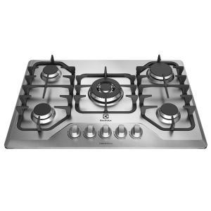 Cooktop a Gás 5 Queimadores Inox (GF75X) - R$673