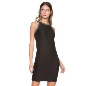 Vestido Amaro Rib Fit - Preto R$50