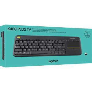Teclado Wireless Touch Keyboard K400 Plus TV - Logitech por R$ 81