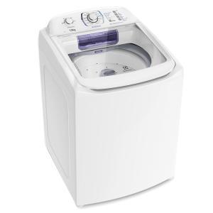 Lavadora Branca com Dispenser Autolimpante e Tecnologia Jet & Clean (LAC13) - R$1076