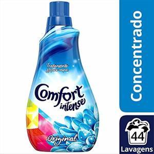 5 Unidades do Amaciante Concentrado Comfort Original 1 L, Comfort, Azul, Original POR R$ 39