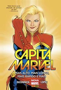 HQ | Capitã Marvel. Mais Alto, Mais Longe, Mais Rápido e Mais - R$25