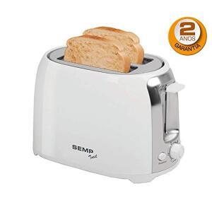 Torradeira 2 Fatias Toast, Semp TCL TR6015BR, 220V Branca - R$58