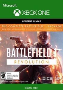 Battlefield 1 Revolution Inc.  + Battlefield 1943 ( Xbox One ) - R$8