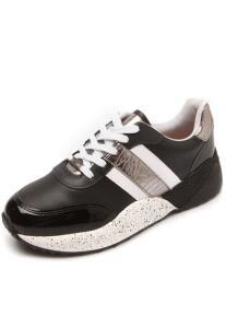 Tênis Vizzano Dad Sneaker Chunky Recortes Preto R$85