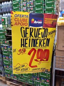 [Apoio Mineiro BH] Cerveja Heineken Lata 350ml  - R$3