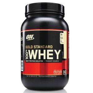 [AME] Whey Protein Gold Standard 100% 909G - Baunilha - Optimum Nutrition - R$136 (ou R$82 com Ame)