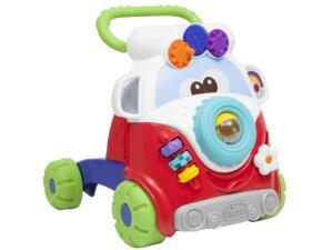 Andador para Bebê Chicco MoveGrow - Ônibus - Primeiros Passos por R$ 185