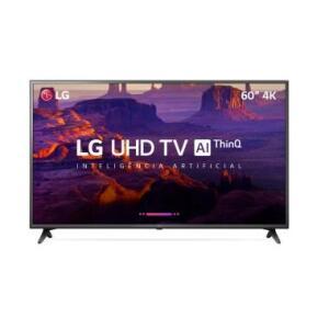 "Smart TV LG 60"" LED Ultra HD 4K 60UK6200 - R$3229"