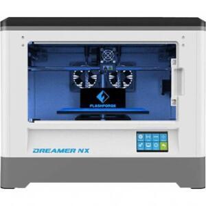 IMPRESSORA 3D FLASHFORGE DREAMER NX por R$ 2979