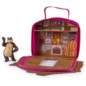 Playset e Mini Figura - Masha e o Urso - Casa do Urso - Sunny por R$ 10