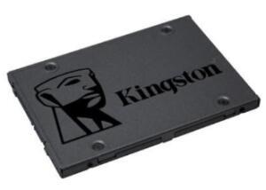 SSD Kingston A400, 120GB, SATA, Leitura 500MB/s, Gravação 320MB/s - SA400S37/120G - R$110