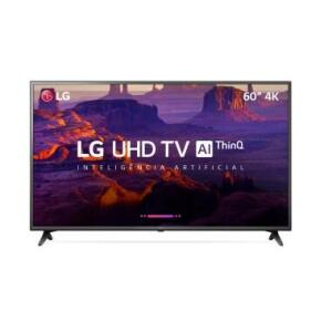 "Smart TV LG 60"" LED Ultra HD 4K 60UK6200   R$3.067"