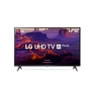 "Smart TV LED 49"" LG 49UK6310 Ultra HD 4K - R$ 1709"